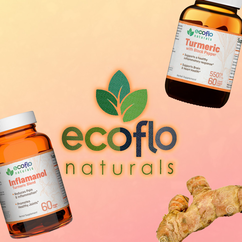 Ecoflo Naturals - Turmeric Products
